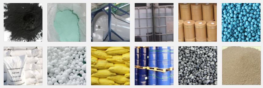 Importación de productos químicos a granel