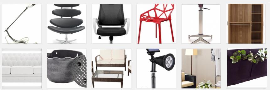 Importación y fabricación de muebles en Asia