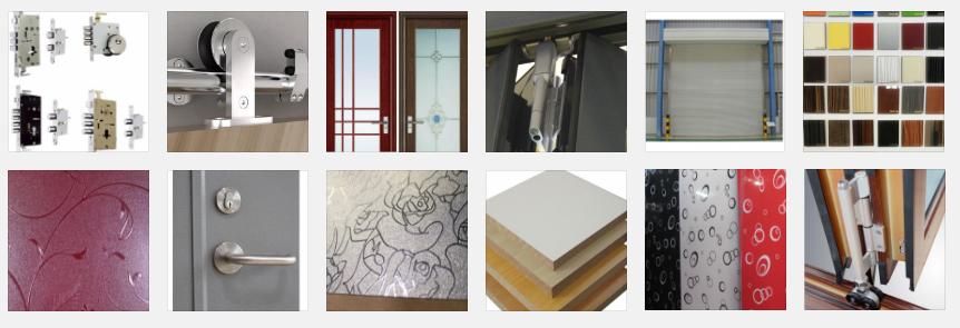 Fabricación y elaboración de componentes de puertas, melaminas y otros artículos de la industria de la madera