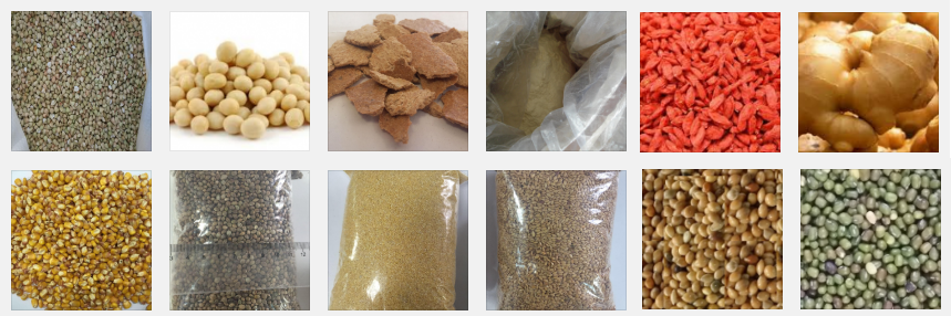 Productos de alimentación y aditivos alimentarios de importación